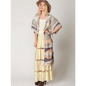 Free People Sands of Time Long Cardigan
